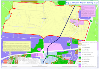Figure 2.4 - Dublin Airport Zoning Map