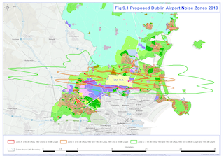 Figure 9.1 - Proposed Dublin Airport Noise Zones 2019