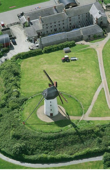 Skerries Mills aerial photo