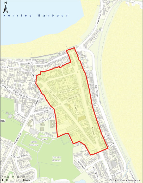 Map - Skerries Core Retail Area