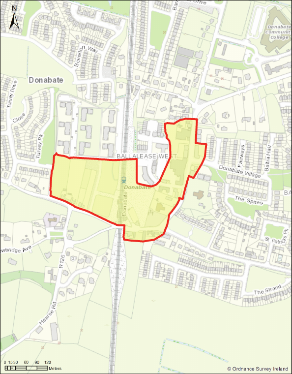 Map - Donabate Core Retail Area