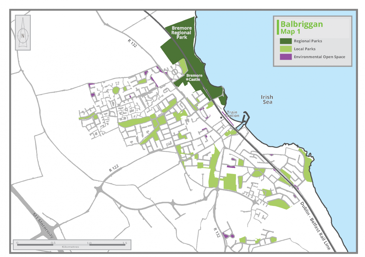 Balbbriggan - Map 1