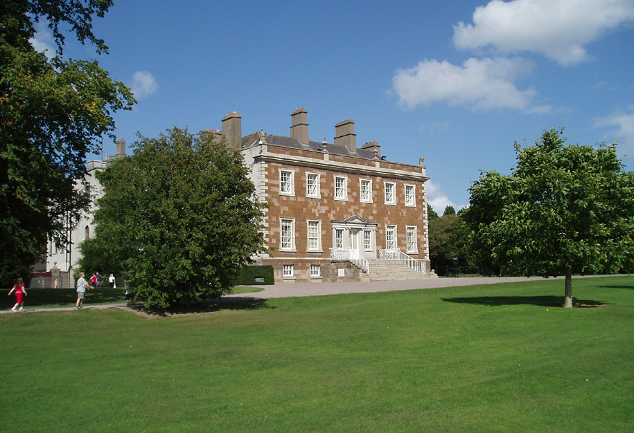 Newbridge House from South West