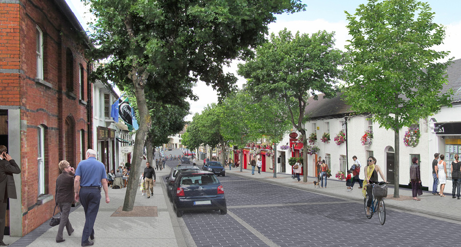 Image of proposed new street