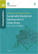 Cover of 'Sustainable Residential Development in Urban Areas, Guidelines for Planning Authorities
